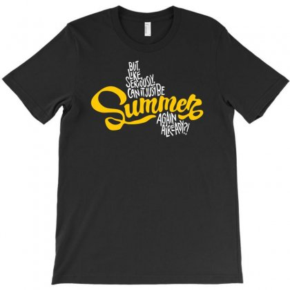 Summer Beach Season T-shirt Designed By Dinugraha