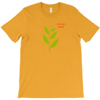 Nature Atmosphere Natural Green Leafy Cloth T Shirt Accessories T-shirt Designed By Artist1