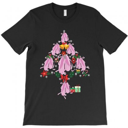Ballet Dance Pointe Shoes Christmas Tree T-shirt Designed By Hoainv