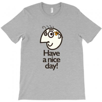 Have A Nice Day Happy Character T-shirt Designed By Wd650