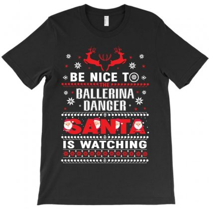 Ballet Dance Christmas T-shirt Designed By Hoainv