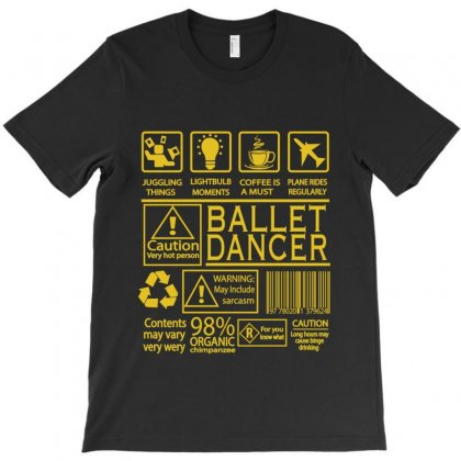 Ballet Dancer T-shirt Designed By Hoainv