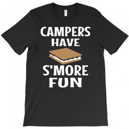 Campers Have Smore Fun T-shirt Designed By Dinugraha