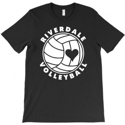 Funny Love Riverdale Volleyball T-shirt Designed By Dinugraha