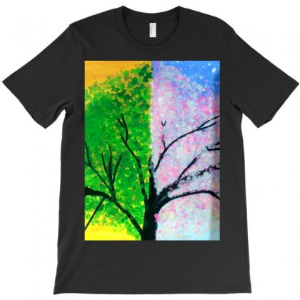 Tree Time Span T-shirt Designed By Arzoo