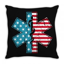 ems usa Throw Pillow | Artistshot