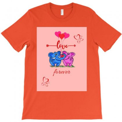Love For Ever T-shirt Designed By Ninalance