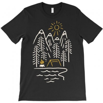 Wild And Relax T-shirt Designed By Quilimo