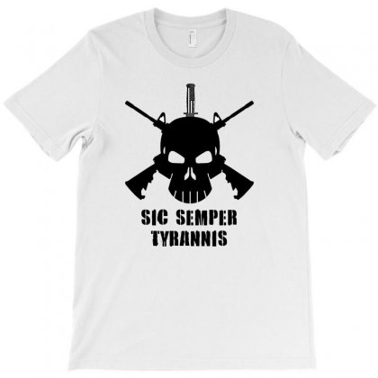 Sic Semper Tyrannis T-shirt Designed By Mircus