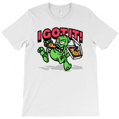 Aliens Looking T-shirt Designed By Acoy