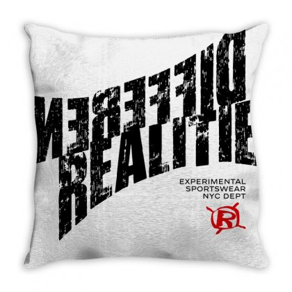Real Reality Different Throw Pillow Designed By Designisfun