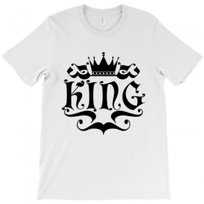 King Logo 2 T-shirt Designed By Tiococacola