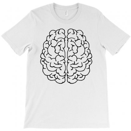 Brain Mind Gray Matter Thought T-shirt Designed By Salmanaz