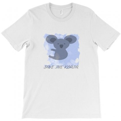 Help Koalas Conservation T-shirt Designed By Sari