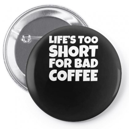 Funny Coffee Slogan Pin-back Button Designed By Milamaftah
