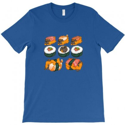 Sushi Hug T-shirt Designed By Sari