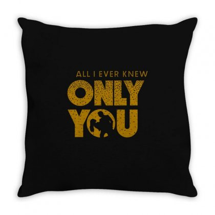 Only You, Lucifer & Chloe Throw Pillow Designed By Artdesigntest
