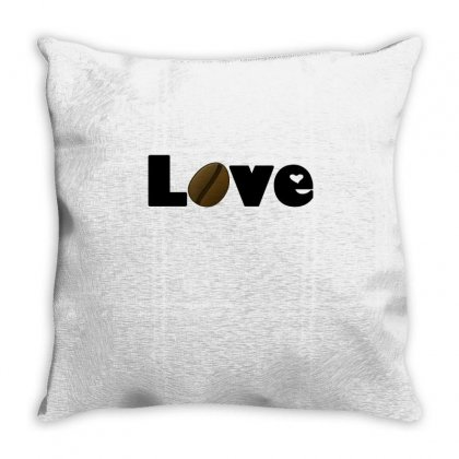 Coffee Is Love Throw Pillow Designed By Hoainv