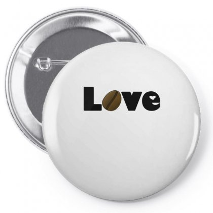 Coffee Is Love Pin-back Button Designed By Hoainv