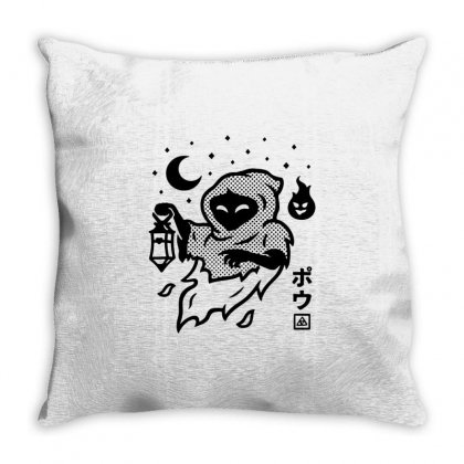 Poe Fitted Throw Pillow Designed By Artdesigntest