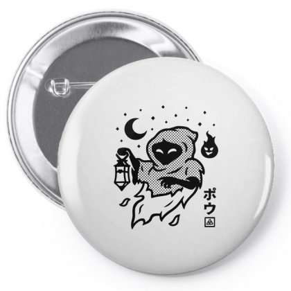 Poe Fitted Pin-back Button Designed By Artdesigntest