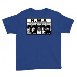 GANGSTA N.W.A Youth Tee | Artistshot