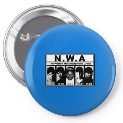 Gangsta N.w.a Pin-back Button Designed By Hiphopshop786