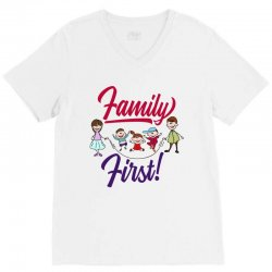 Family first V-Neck Tee | Artistshot