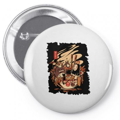 Ramen Pool Party Pin-back Button Designed By Artdesigntest