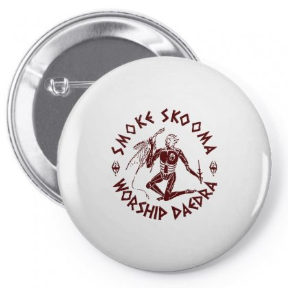 Smoke Skooma Worship Daedra Abstrack Pin-back Button Designed By Artdesigntest