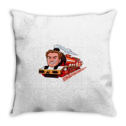 Stay Off The Tracks Vintage Throw Pillow Designed By Artdesigntest