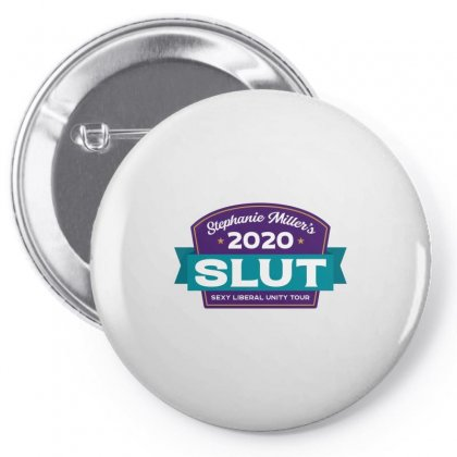 Stephanie Miller's Sexy Liberal Unity Tour 2020 Fitted Pin-back Button Designed By Artdesigntest