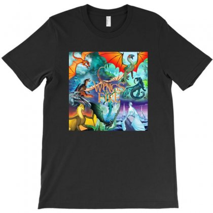 Wings Of Fire T-shirt Designed By Rakuzan