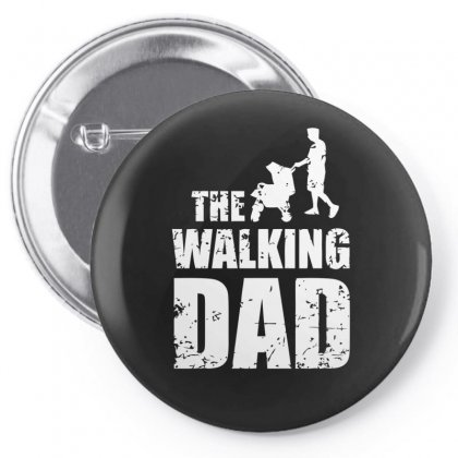 The Walking Pin-back Button Designed By S4bilal