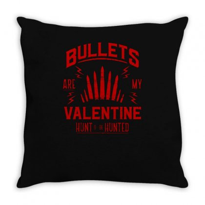 Bullets Throw Pillow Designed By S4bilal