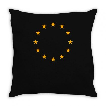 Circle Star Throw Pillow Designed By S4bilal