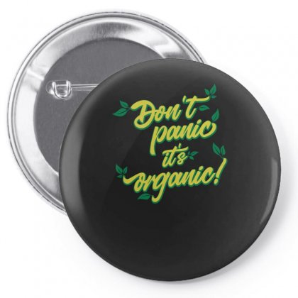 Dont Panic Pin-back Button Designed By S4bilal
