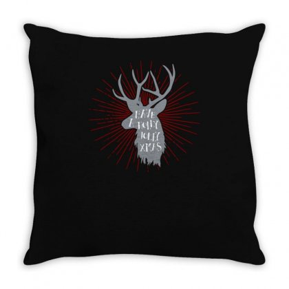 Have A Holly Throw Pillow Designed By S4bilal