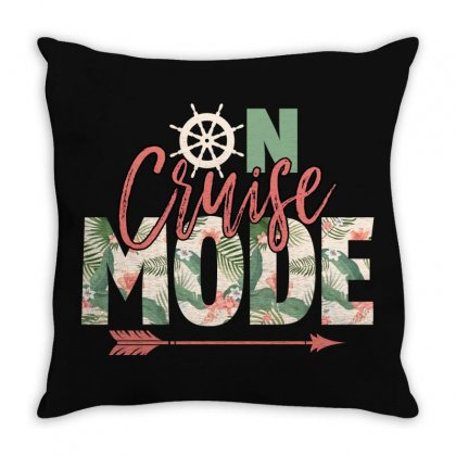 On Cruise Mode Throw Pillow Designed By Gurkan