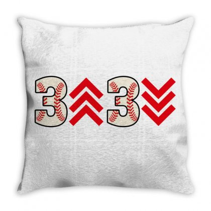 3 Up 3 Down Throw Pillow Designed By Gurkan