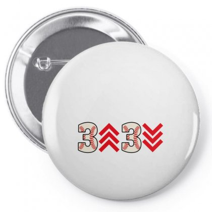 3 Up 3 Down Pin-back Button Designed By Gurkan