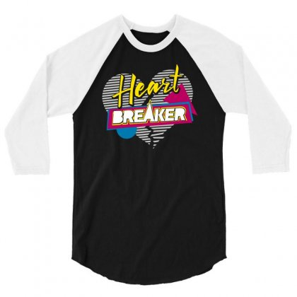 Heart Breaker 3/4 Sleeve Shirt Designed By S4bilal
