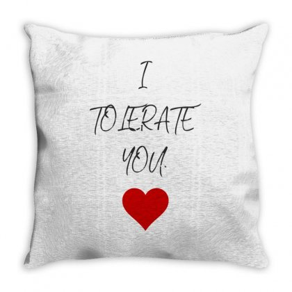 I Love Lerate Throw Pillow Designed By S4bilal