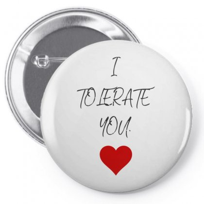 I Love Lerate Pin-back Button Designed By S4bilal