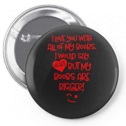 I Love You With Pin-back Button Designed By S4bilal
