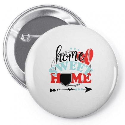 Home Sweet Home Baseball For Light Pin-back Button Designed By Gurkan