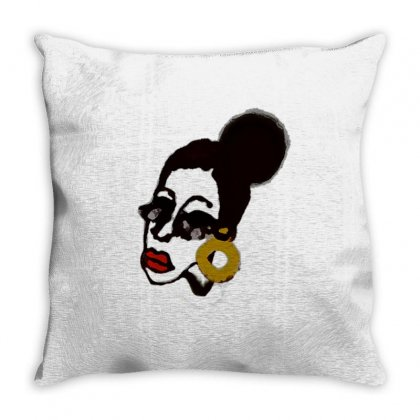 What Are You Looking At !!! Throw Pillow Designed By Kaknou