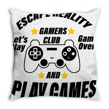 Escape Reality Throw Pillow Designed By Bettercallsaul