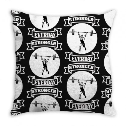 Stronger Everday Throw Pillow Designed By Bettercallsaul