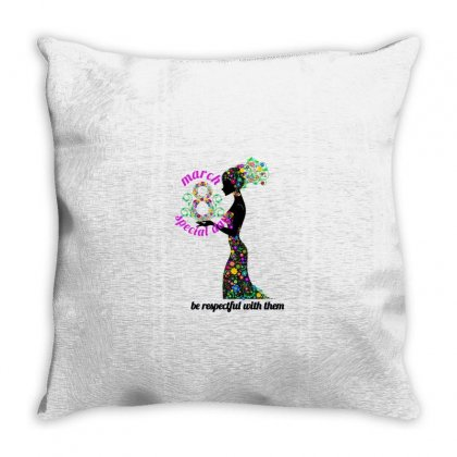 Happy Womens Day Throw Pillow Designed By Btqe International